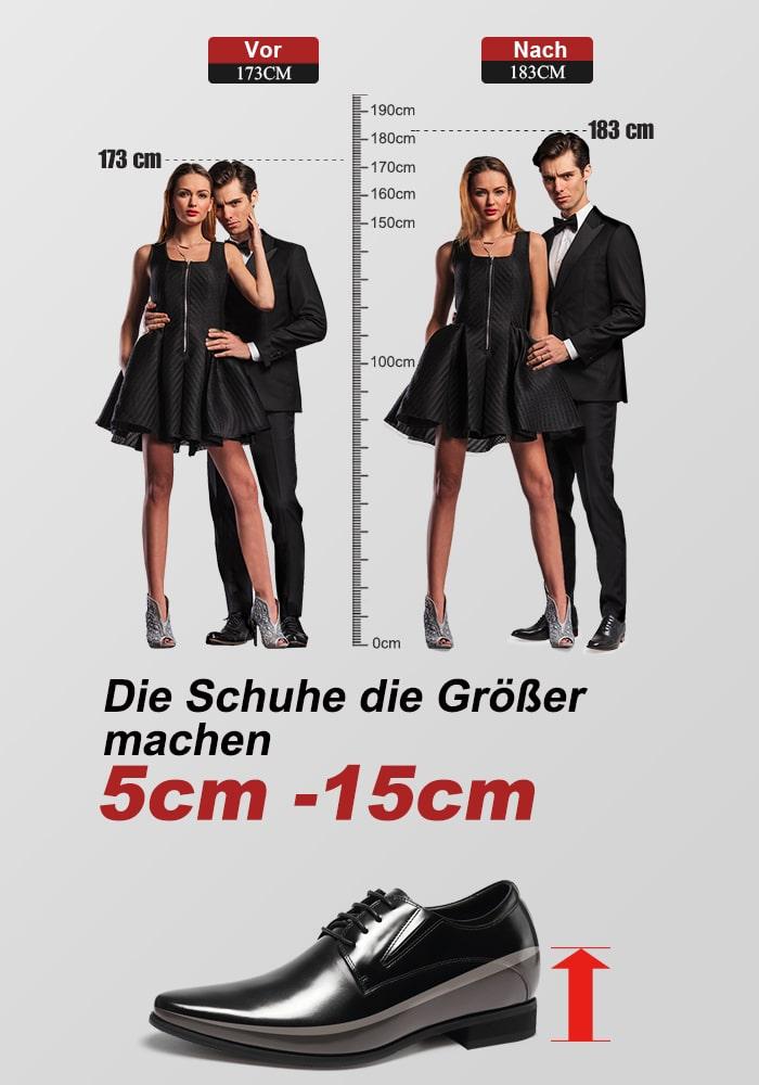 Mann cm frau 2 größer als Mann: Wie