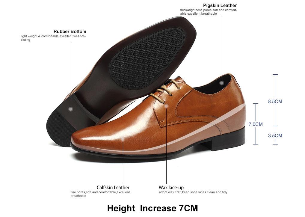 wearing chamaripa classical dress elevator shoes gain