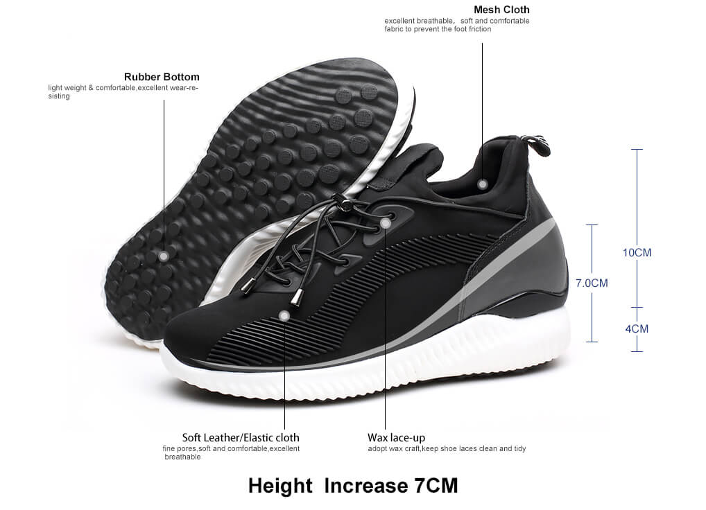 Elevator Shoes Men Increasing Height