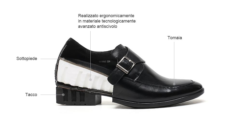 scarpe per alzare statura