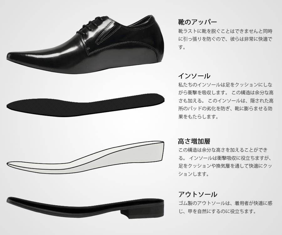 革靴 身長