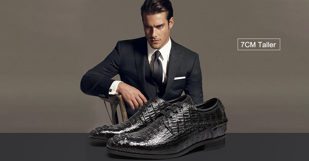 Customized Elevator Height Increasing Shoes Bespoke Style Handmade Shoes