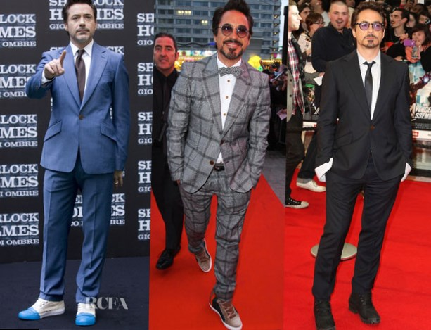 Robert Downey Jr shoes lifts