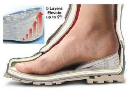 shoe insoles to make you taller