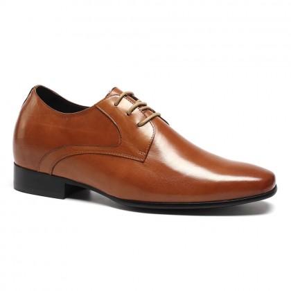 Genuine Leather Dress Elevator Shoes Make Men Look Taller