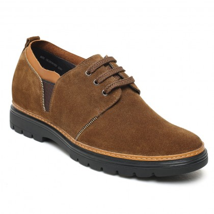 Elevator Height Increase Hiking Shoes Hidden Heel Lift Shoes for Men