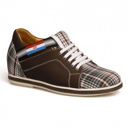 Elevator Shoes Casual Board Height Increasing Shoes