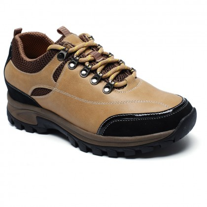 Chamaripa Woodland Elevator Shoes Make Men Look Taller Safety Shoes