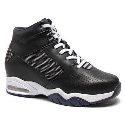 Chamaripa Tall Men Shoes Elevator Basketball Shoes To Make You Taller 9CM/3.54 Inch