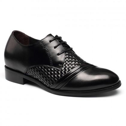 Custom BESPOKE Elevator Height Increase Heel Inserts Shoes Bespoke Elevator Shoes  Handmade Shoes