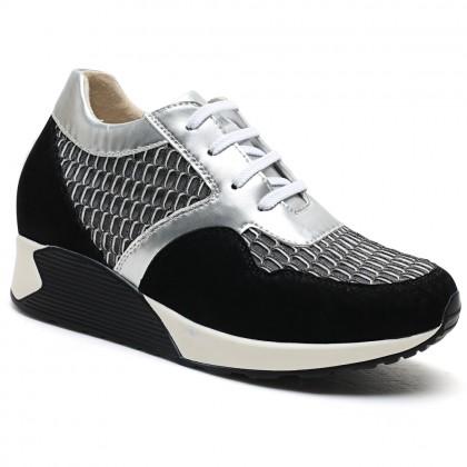 New Casual Women Long Legs Height Increasing Shoes Orthopedic Shoe Lifts