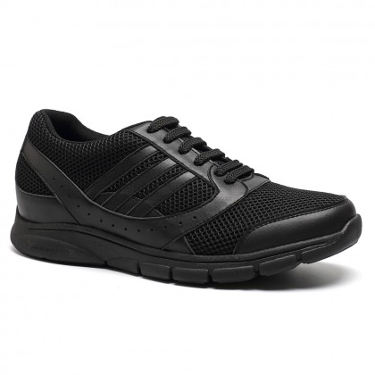Comfortable Height Increasing Shoes Mens Elevator Sneakers Sports Athletic Trainers Sneakers shoes