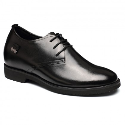 Business casual dress height increasing shoes for men