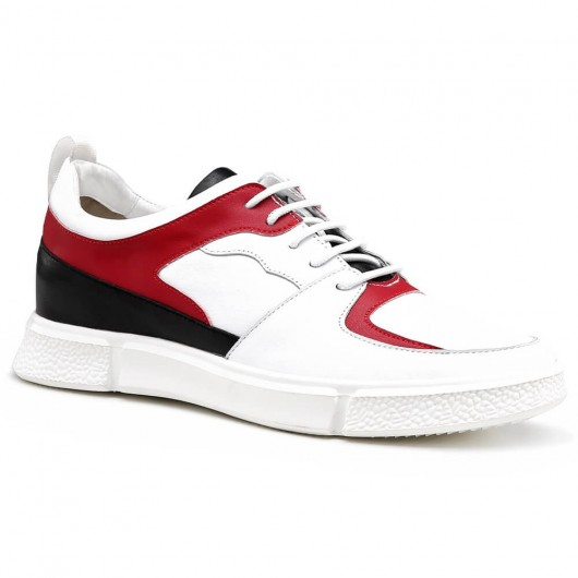 Chamaripa Elevator Sneakers Casual Tall Men Shoes Lightweight Sneaker that Give You Height 6 CM / 2.36 Inches