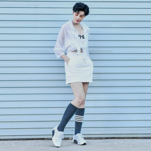 CHAMAIRIPA women'selevatorshoes white leather elevatorsneakersforwomen 8CM / 3.15 Inches
