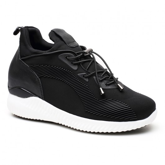 Height Increase Shoes Lift Shoes Elevator Sneaker Hidden High Heel Shoes for Women 8CM/3.15 Inch