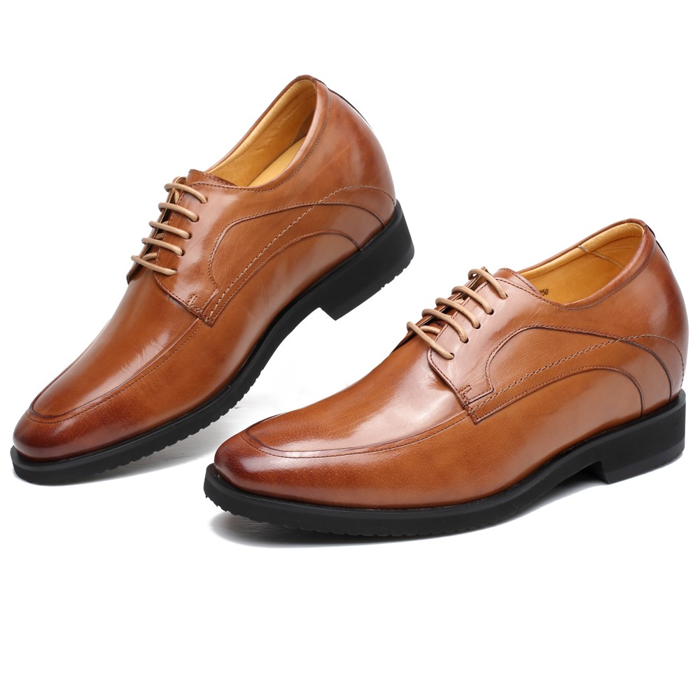 height increasing elevator shoes mens dress shoes make you