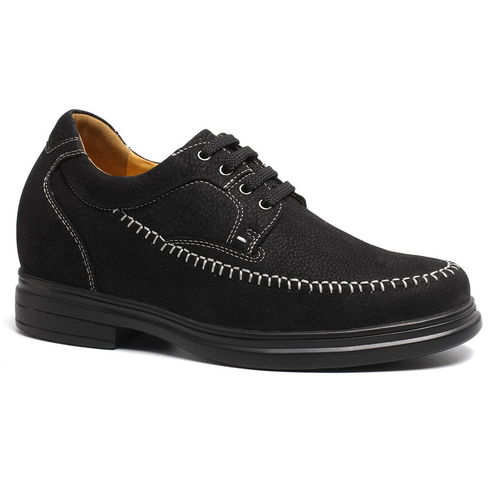 Elevator Shoes Men Increasing Height Shoes Make Men Taller Brown ...