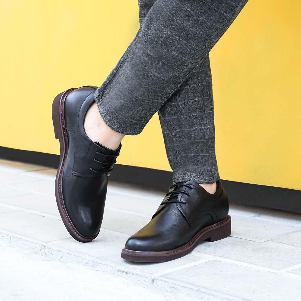 Chamaripa Dress Elevator Shoes Black