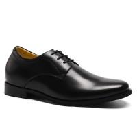 Calfskin leather dress formal elevating shoes for men