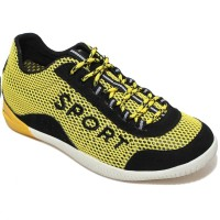 Fashion height increasing sport shoes spring / summer breathable mesh sport elevator shoes