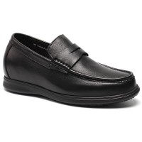 CHAMARIPA Elevator Shoes Casual Oxfords Leather Shoes