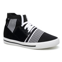 Casual Hidden Height Insole Shoes Men Elevator Sneaker High Top Taller Shoes 7cm/2.76 inches