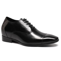 Formal Dress men Elevator Eleguant Shoes Height increasing shoes Makes Men look Taller 2.95 Inches