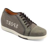 Sport Microfiber Increasing Height Elevation Shoes