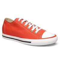 Casual Men Solid Canvas Flats Elevator Sport Running Shoes increasing Height 6CM Red