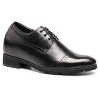 Chamaripa Extra Heigh Oxfords Wedding Elevator Dress Shoes