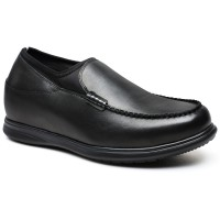 Business Casual Men Elevator Shoes Height Increasing Loafer Tall Men Shoes 7CM/2.76 Inches Taller