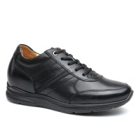 Business Casual Tall Men Shoes Height Increasing Leather Shoes that Make Men Taller 6CM/2.36 Inches