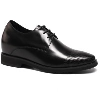 Formal Height Increasing Dress Shoes Men Elevator Shoes that Make You Get Taller 9CM/3.54 Inches Taller