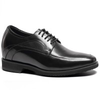 Formal Men Dress Elevator Shoes Height Increasing Shoes Lift Shoes 9CM/3.54 Inches Taller