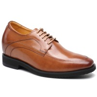 Height Increasing Elevator Shoes High Heel Men Dress Shoes That Make You Taller 9CM/3.54 Inches