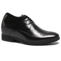 Casual Height Increasing Elevator Shoes Hidden High Heel Shoes For Men Make Look Taller 10cm/3.94 Inch
