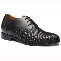 Height Gain Shoes Woven Leather Shoes Lifts for Shoes Lifting Shoes Bespoke Elevator Shoes‎