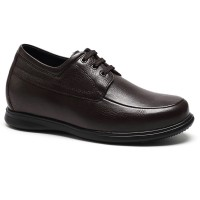 Height Increasing Elevator Shoes Casual Business Hidden Heels Lift Shoes that Make Men Taller 7cm/2.76 Inches