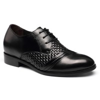 Custom BESPOKE Elevator Height Increase Heel Inserts Shoes Bespoke Elevator Shoes‎  Handmade Shoes