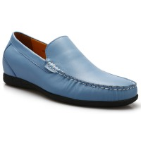 Loafer Casual Tall Men Shoes Comfortable High Heel Shoes