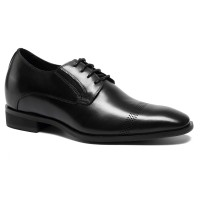 Men Elevator Dress Shoes Oxford Height Increasing Shoes Taller Shoes