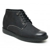 Stylish Casual High Heel Boots for Men Height Increasing Boots For Men