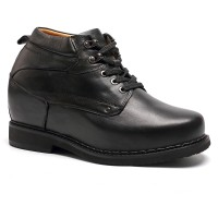 Tall Mens Boots Elevator Shoes 5.12 inch Height Increasing Dress Shoes Make Men Taller 13CM