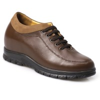 Casual Business  Elevator Shoes Hidden Height Heel Shoes for Men Increase Height 8cm/3.15 inches