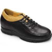 Men Casual Height Increasing Elevator Shoes Tall Men Shoes Add Height 8cm/3.15 inches