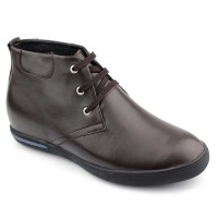 Soft Casual Elevator Height Increasing Boots For Men