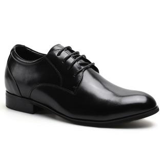 Pointy Toe Look Taller Men 7.5CM/2.95 Inch Elevator Dress Shoes
