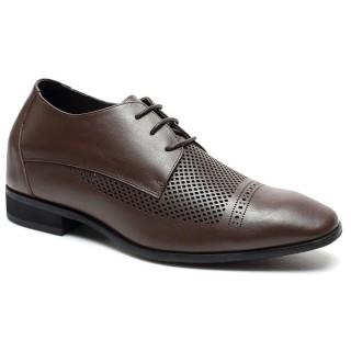 Brown sandals Dress Sandals Elevator Sandal Mens Leather Sandals