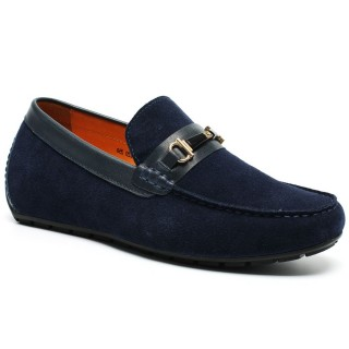 Chamaripa Elevator Shoes Driving Casual Loafers Boat Shoes